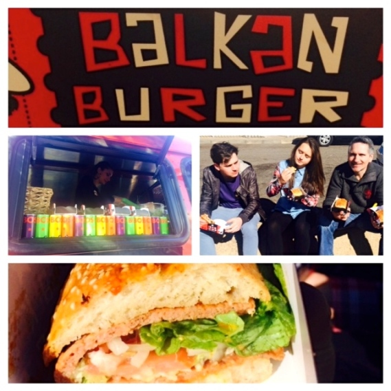 balkan burger i mean what more could you ask for